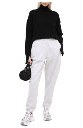 Женский свитер из шерсти и кашемира MRZ черного цвета, арт. FW20-0050 | Фото 2