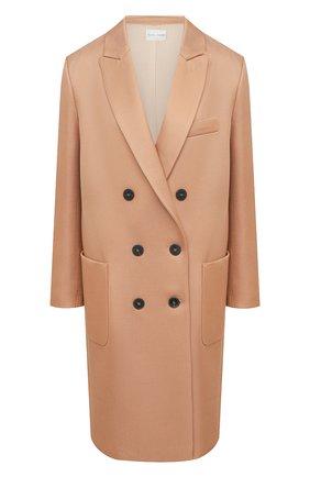 Женское пальто из вискозы и шерсти FORTE_FORTE бежевого цвета, арт. 7505 | Фото 1