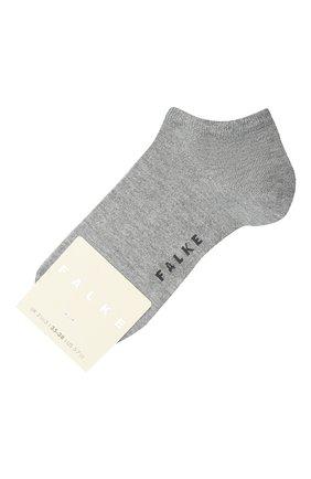 Женские носки shiny FALKE серого цвета, арт. 46250   Фото 1
