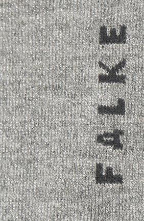 Женские носки shiny FALKE серого цвета, арт. 46250   Фото 2