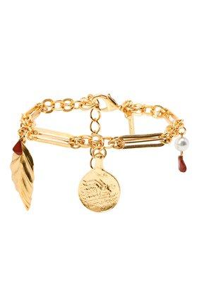 Женский браслет OSCAR DE LA RENTA золотого цвета, арт. P20J801G0L | Фото 1