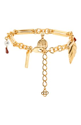 Женский браслет OSCAR DE LA RENTA золотого цвета, арт. P20J801G0L | Фото 2