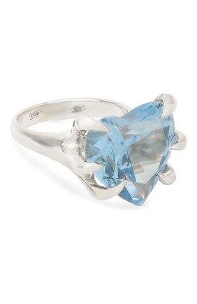 Женское кольцо DZHANELLI голубого цвета, арт. 02 | Фото 1