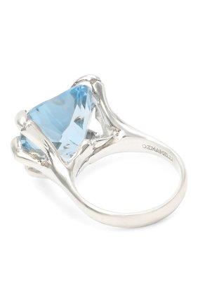 Женское кольцо DZHANELLI голубого цвета, арт. 02 | Фото 2