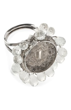 Женское кольцо DZHANELLI серебряного цвета, арт. 0507 | Фото 1