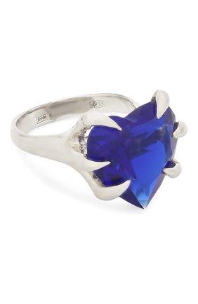 Женское кольцо DZHANELLI синего цвета, арт. 04 | Фото 1