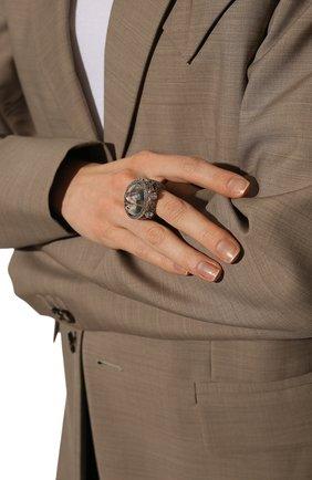 Женское кольцо DZHANELLI серебряного цвета, арт. 0234 | Фото 2