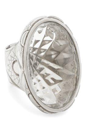 Женское кольцо DZHANELLI серебряного цвета, арт. 0510-1   Фото 1