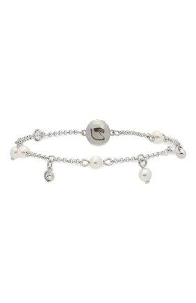 Женский браслет remix collection delicate pearl strand SWAROVSKI серебряного цвета, арт. 5560661 | Фото 2