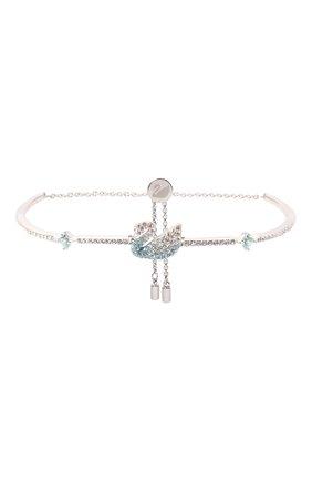 Женский браслет iconic swan SWAROVSKI серебряного цвета, арт. 5549312 | Фото 1