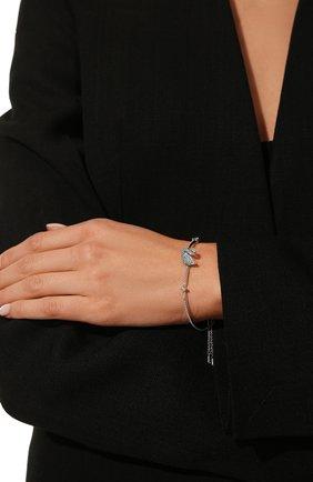 Женский браслет iconic swan SWAROVSKI серебряного цвета, арт. 5549312 | Фото 2