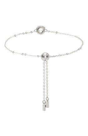 Женский браслет angelic round SWAROVSKI серебряного цвета, арт. 5567934 | Фото 2