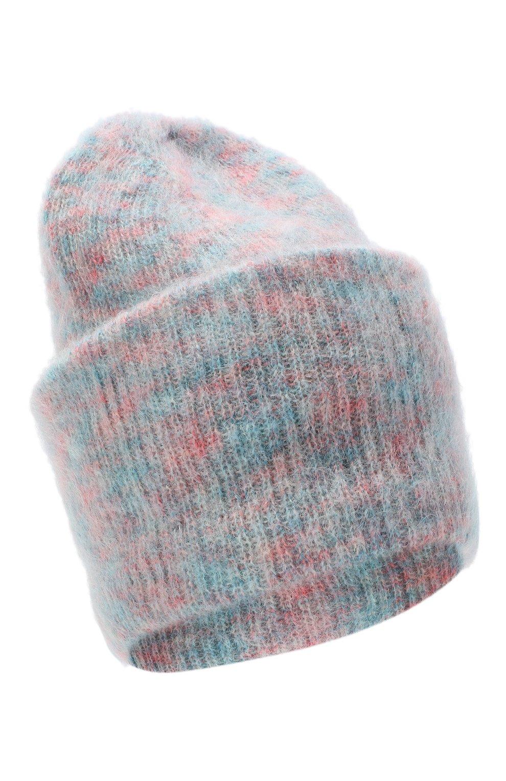 Женская шапка TAK.ORI розового цвета, арт. HTK50027WM050AW19 | Фото 1 (Материал: Текстиль, Шерсть, Синтетический материал)