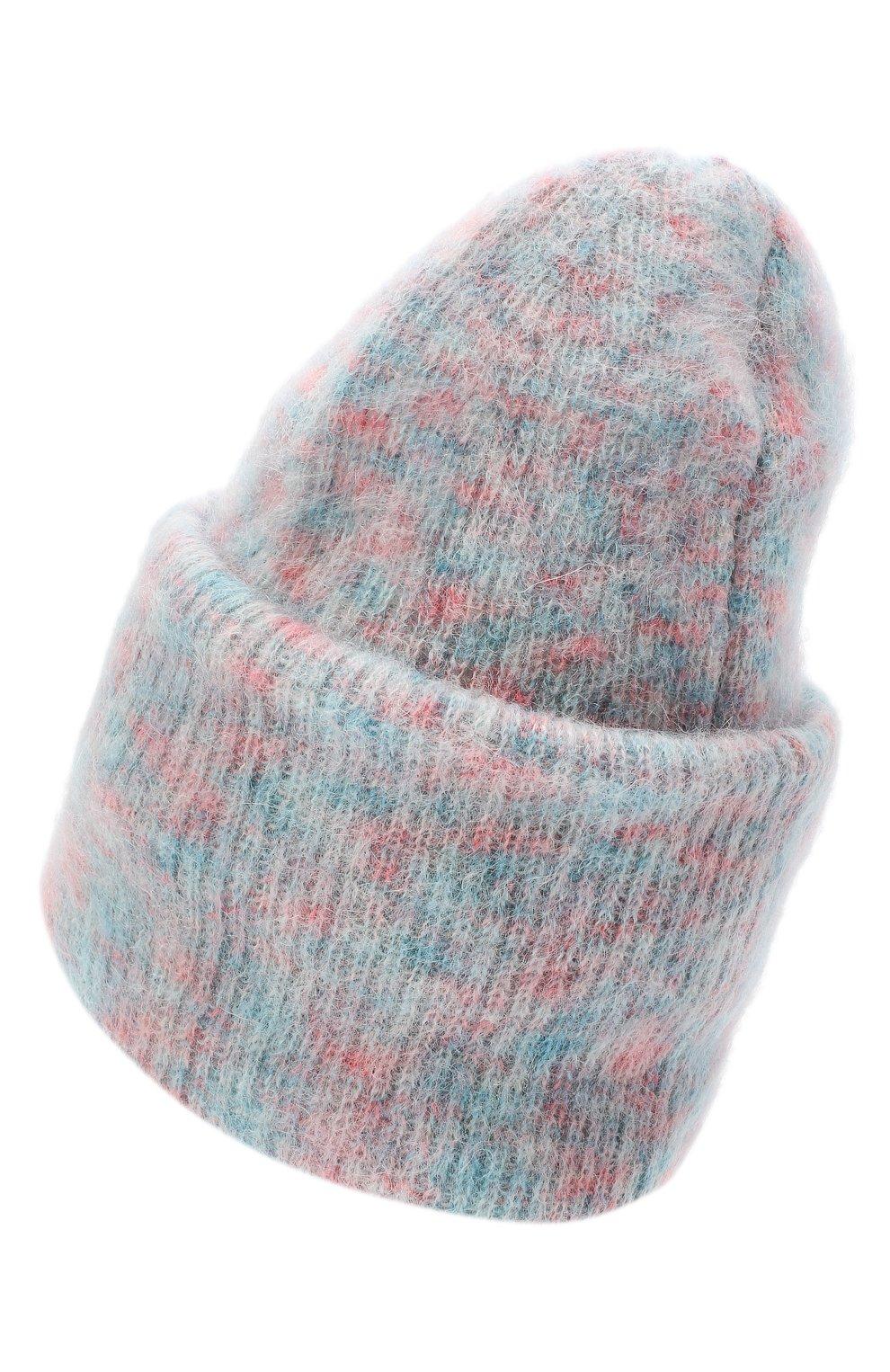 Женская шапка TAK.ORI розового цвета, арт. HTK50027WM050AW19 | Фото 2 (Материал: Текстиль, Шерсть, Синтетический материал)