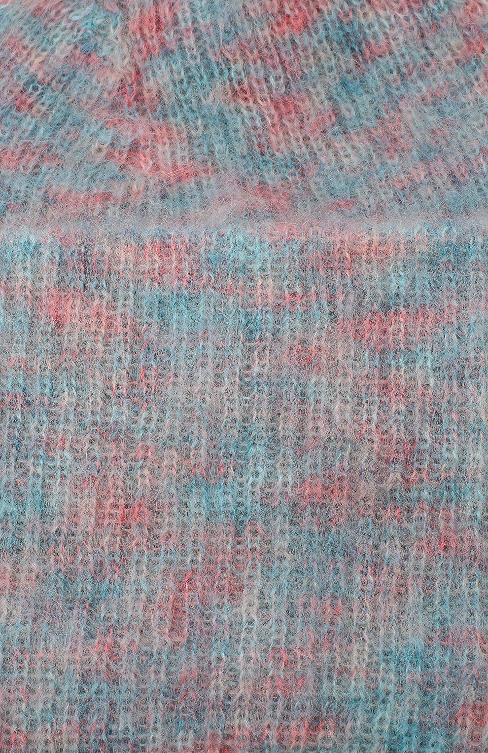 Женская шапка TAK.ORI розового цвета, арт. HTK50027WM050AW19 | Фото 3 (Материал: Текстиль, Шерсть, Синтетический материал)