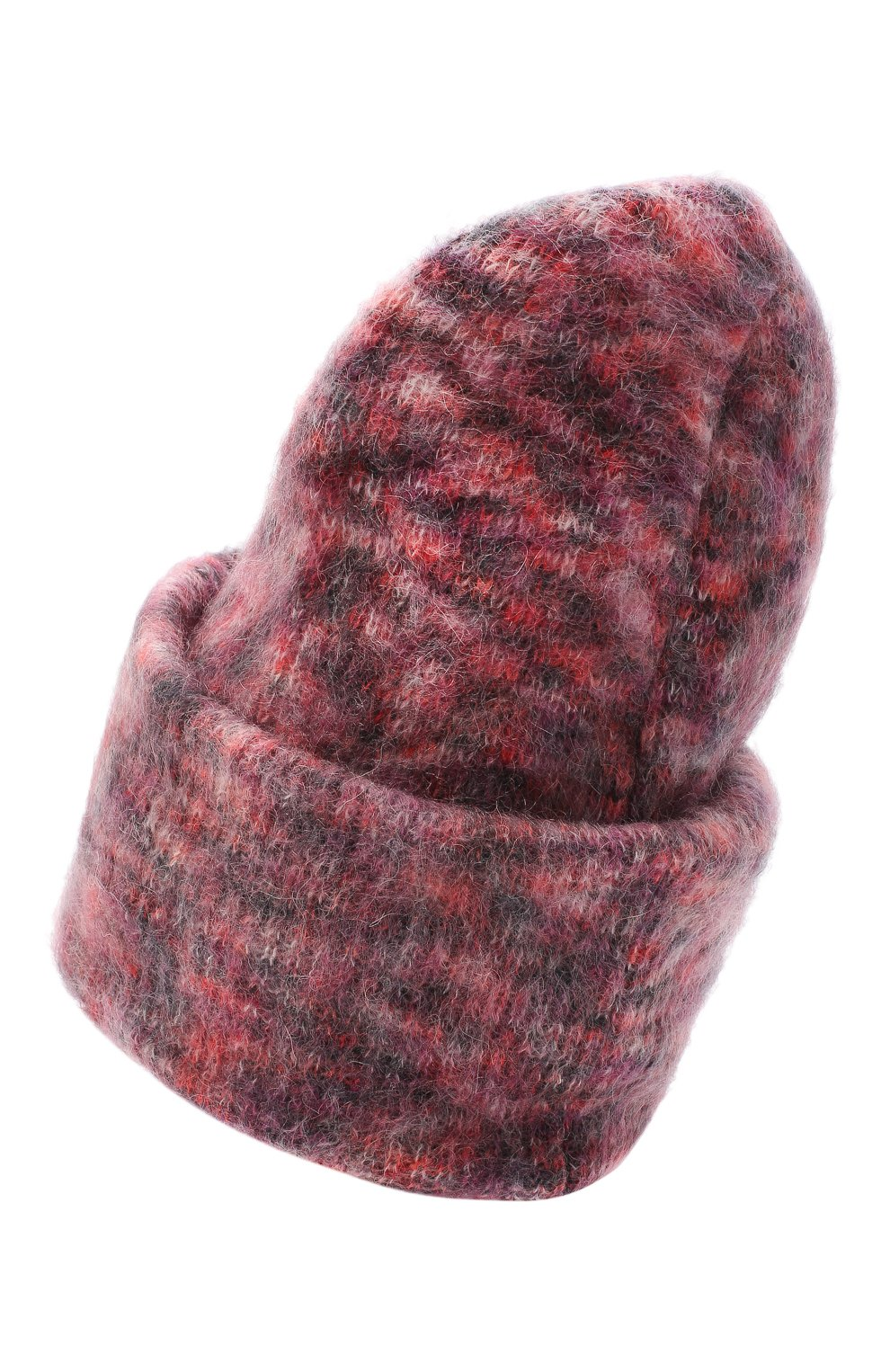 Женская шапка TAK.ORI фиолетового цвета, арт. HTK50027WM050AW19 | Фото 2 (Материал: Текстиль, Шерсть, Синтетический материал)