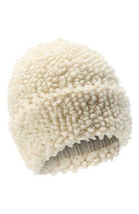 Женская кашемировая шапка INVERNI белого цвета, арт. 4938CM | Фото 1