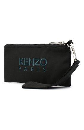 Женские кошелек KENZO черного цвета, арт. FA65PM313F20 | Фото 2