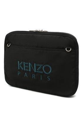 Мужской чехол для macbook KENZO черного цвета, арт. FA65SF308F20 | Фото 2