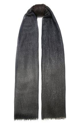 Женская палантин FALIERO SARTI серого цвета, арт. I21 1007 | Фото 1