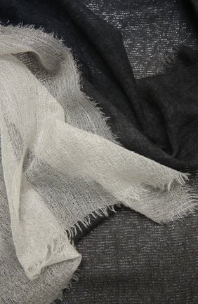 Женская палантин FALIERO SARTI серого цвета, арт. I21 1007 | Фото 2