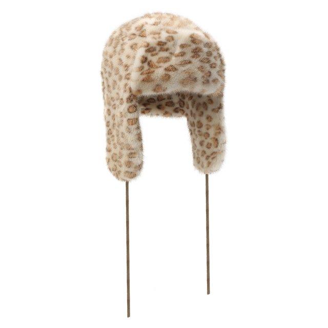 Шапка-ушанка из меха норки FurLand