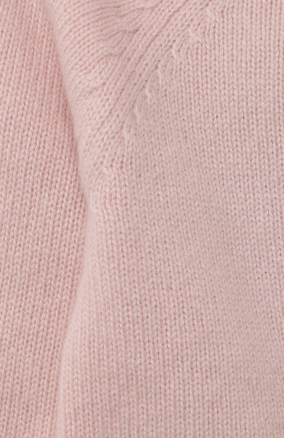Детский кашемировая толстовка OSCAR ET VALENTINE розового цвета, арт. GIL01S   Фото 3