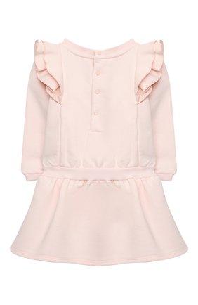 Женский хлопковое платье GIVENCHY светло-розового цвета, арт. H02061 | Фото 2