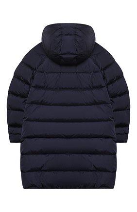 Детское пуховое пальто IL GUFO темно-синего цвета, арт. A20GP262N0031/10A-12A   Фото 2