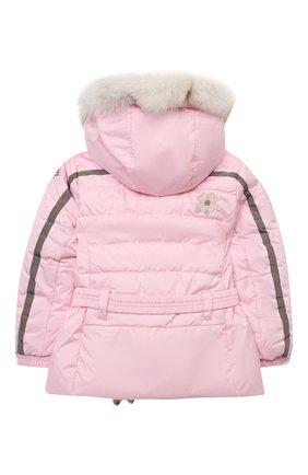 Детская куртка с капюшоном POIVRE BLANC розового цвета, арт. 279635 | Фото 2