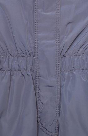 Детские комбинезон POIVRE BLANC серого цвета, арт. 279637   Фото 3 (Девочки Кросс-КТ: Брюки-одежда; Материал внешний: Синтетический материал; Материал подклада: Синтетический материал; Ростовка одежда: 4 года   104 см, 5 лет   110 см, 6 лет   116 см)