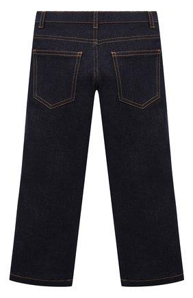 Детские джинсы FENDI синего цвета, арт. JFF203/A6IQ/8A-12+ | Фото 2