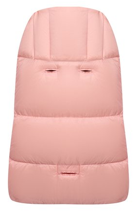 Детский пуховый конверт MOSCHINO розового цвета, арт. MUE00D/L3A22 | Фото 2