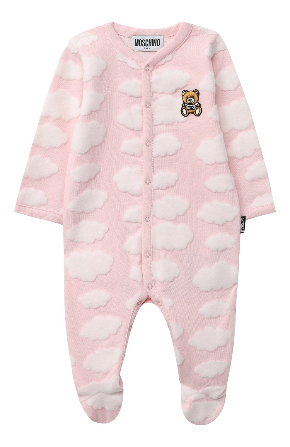 Детский комплект из двух комбинезонов MOSCHINO розового цвета, арт. MUY030/LAF00   Фото 2