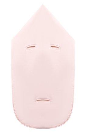 Детский хлопковый конверт MOSCHINO розового цвета, арт. MZE005/LCE00 | Фото 2