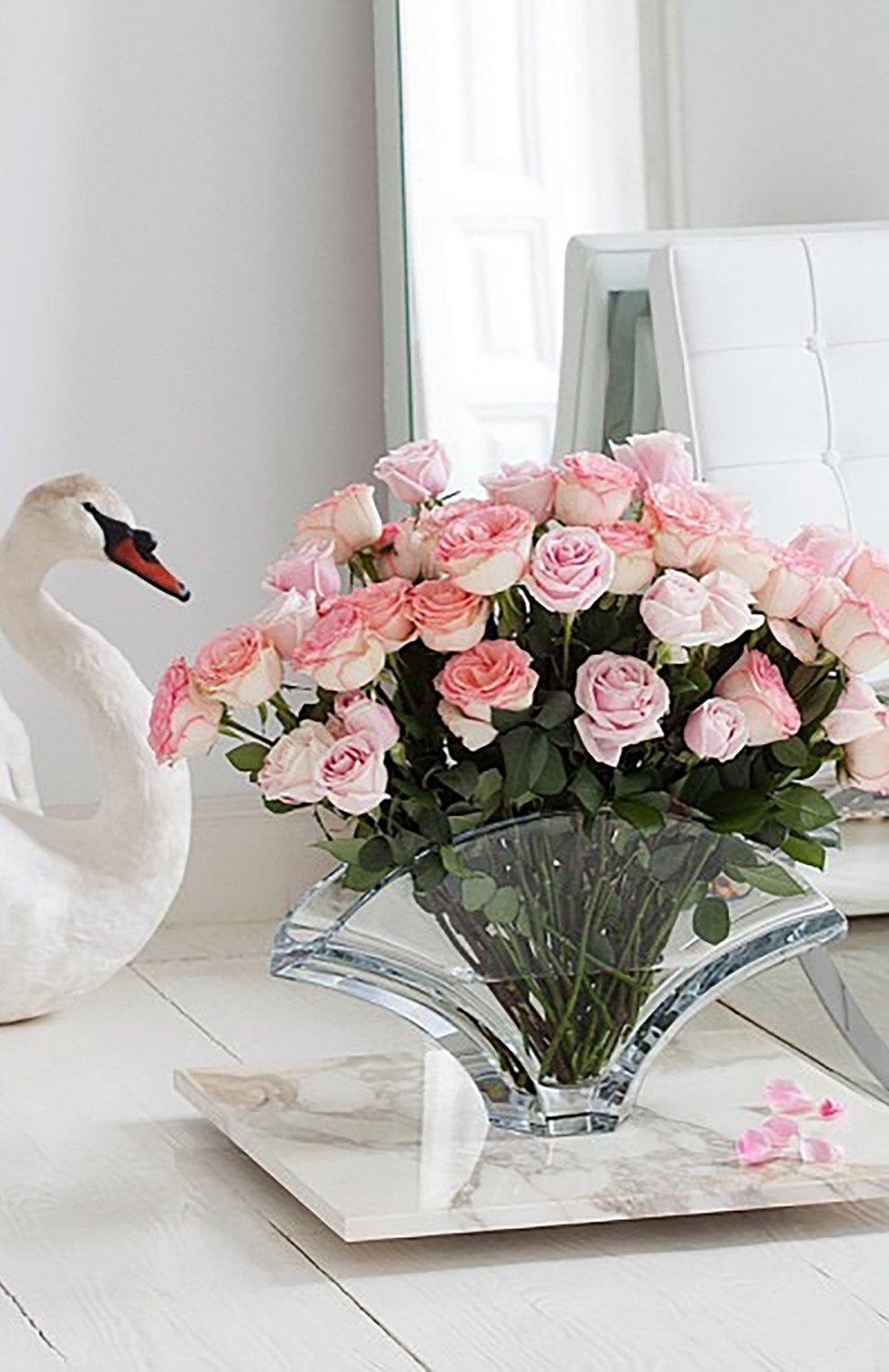 Мужского ваза gingko BACCARAT прозрачного цвета, арт. 2 100 123 | Фото 2