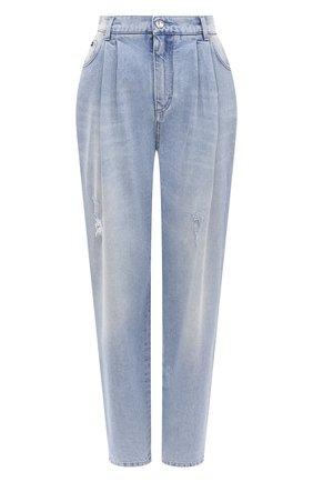 Женские джинсы DOLCE & GABBANA голубого цвета, арт. FTBY0D/G8CT0 | Фото 1
