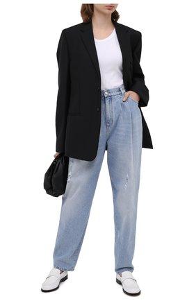 Женские джинсы DOLCE & GABBANA голубого цвета, арт. FTBY0D/G8CT0 | Фото 2
