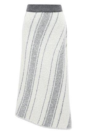 Женская юбка VIKA GAZINSKAYA белого цвета, арт. FW20-1837 | Фото 1