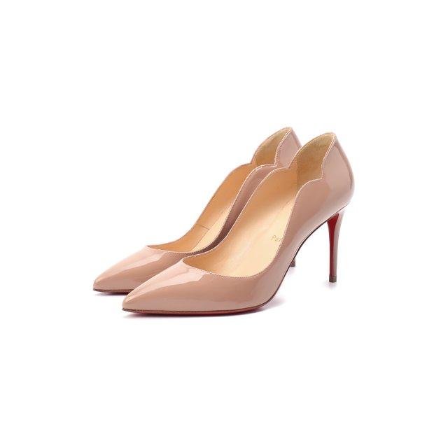 Кожаные туфли Hot chick 85 Christian Louboutin