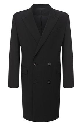 Мужской шерстяное пальто JUUN.J черного цвета, арт. JC0811P415 | Фото 1
