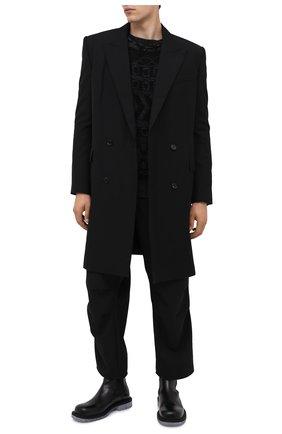Мужской шерстяное пальто JUUN.J черного цвета, арт. JC0811P415 | Фото 2