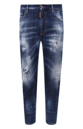 Мужские джинсы DSQUARED2 синего цвета, арт. S74LB0741/S30342 | Фото 1