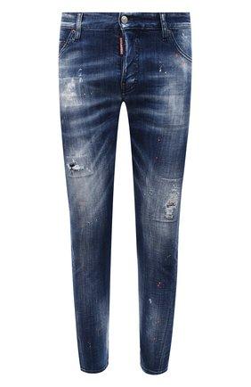 Мужские джинсы DSQUARED2 синего цвета, арт. S74LB0822/S30342 | Фото 1