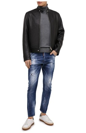 Мужские джинсы DSQUARED2 синего цвета, арт. S74LB0822/S30342 | Фото 2