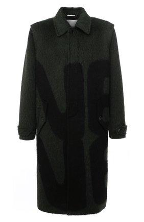 Мужской шерстяное пальто VALENTINO зеленого цвета, арт. UV0CAD956S8 | Фото 1