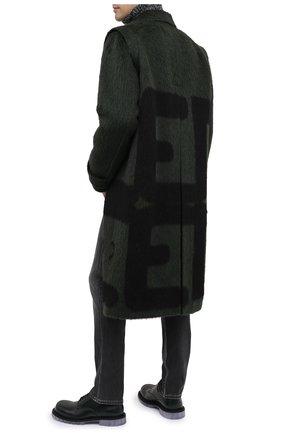 Мужской шерстяное пальто VALENTINO зеленого цвета, арт. UV0CAD956S8 | Фото 2