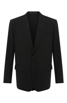 Мужской пиджак VALENTINO черного цвета, арт. UV0CEC056DP | Фото 1