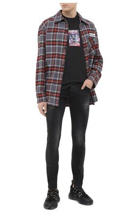 Мужские джинсы DON THE FULLER черного цвета, арт. DHW0/MILAN0 ALFA/DTF/PAY | Фото 2