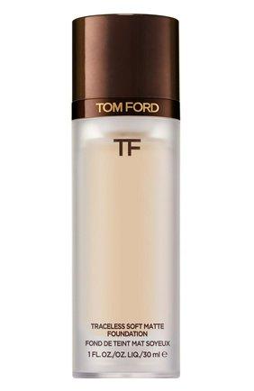 Тональная основа traceless soft matte foundation, 0.5 porcelain TOM FORD бесцветного цвета, арт. T8X9-05 | Фото 1